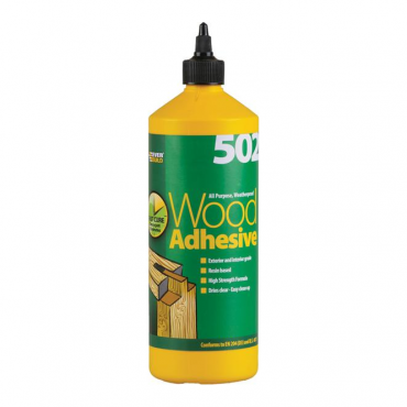 All Purpose, Weatherproof Wood Adhesive - 125ml