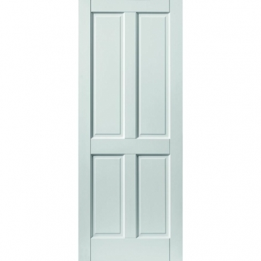 JB Kind Colonial 4 Panel Extreme External White Door