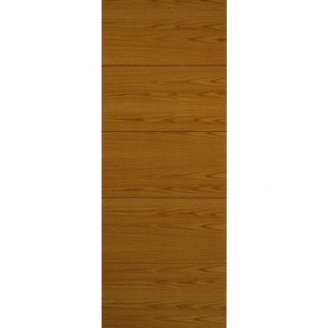 JB Kind Oak Contemporary Royale VT5 Oak Door