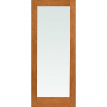 JB Kind Oak Shaker Fuji Oak Glazed Door