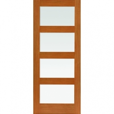 JB Kind Oak Shaker Nevis Oak Glazed Door