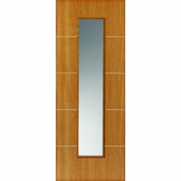 JB Kind Painted Finish Louvre Glazed Door