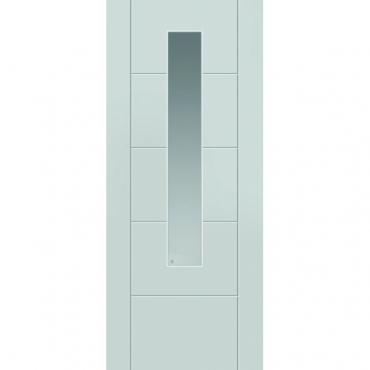 JB Kind Tigris Glazed Extreme White External Door