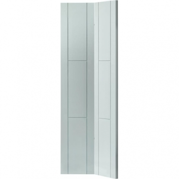 JB Kind White Contemporary Mistral Bifold White Painted Door