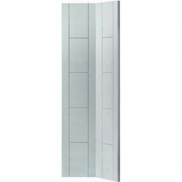 JB Kind White Contemporary Tigris White Bi-fold Painted Door