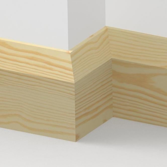 Pine Bevel Skirting 3.5 metre