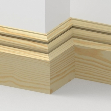 Pine Bromley Skirting 3.5 metre