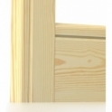 Pine Bullnose Single Groove Architrave Sets