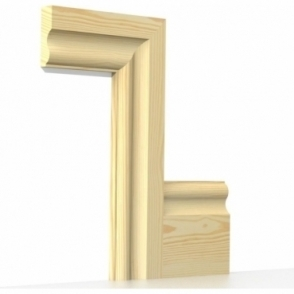 Pine Cambridge Architrave Sets