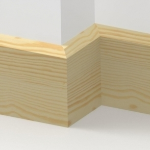Pine Chamfered Skirting 3.5 metre
