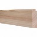 Pine Mini Chamfered Picture Rail 3 Metre