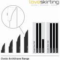 Pine Ovolo Architrave Sets