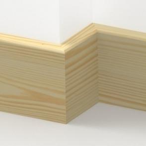 Pine Pencil Round Skirting 3.5 metre