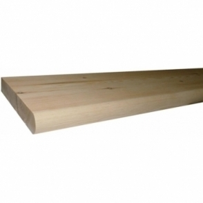 Pine Rounded Window Board 2.0m x 25mm