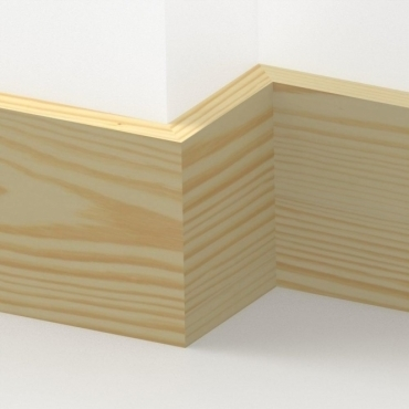 Pine Square Edge Skirting 3.5 metre