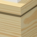 Pine Square Single Edge Skirting 3.5 metre
