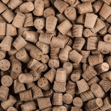 Solid Oak 10mm Tapered Pellets