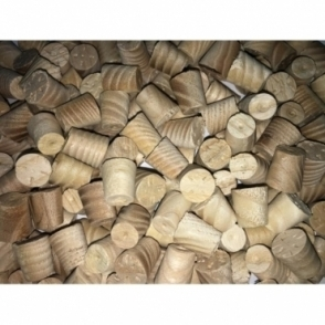 Solid Ash 8mm Tapered Pellets
