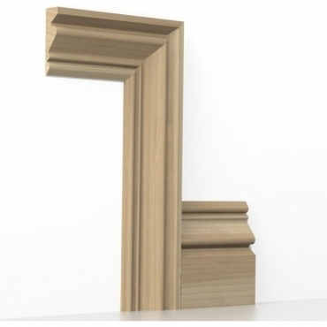 Solid Ash Buckingham Architrave Sets