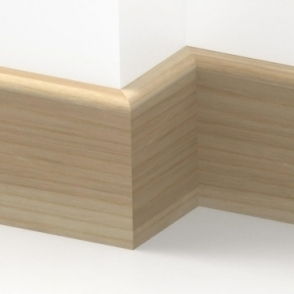 Solid Ash Bullnose Skirting 3 metre
