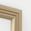 Solid Ash Chamfered Double Edge Architrave Sets