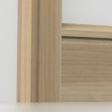 Solid Ash Chamfered Single Edge Architrave Sets