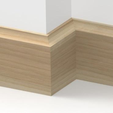 Solid Ash Scotia Skirting 3 metre