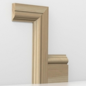 Solid Ash Winchester Architrave Sets
