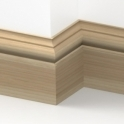 Solid Ash Winchester Skirting 3 metre