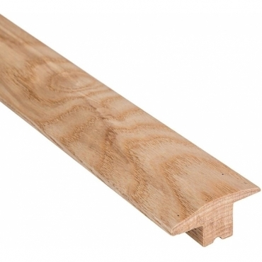 Solid Ash Wood to Carpet Threshold 1.0 Metre
