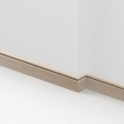 Solid Beech Flute Skirting 3 metre