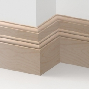 Solid Beech Orchard Skirting 3 metre