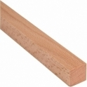 Solid Beech Square Beading 9mm x 9mm