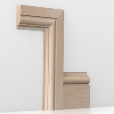 Solid Beech Winchester Architrave Sets