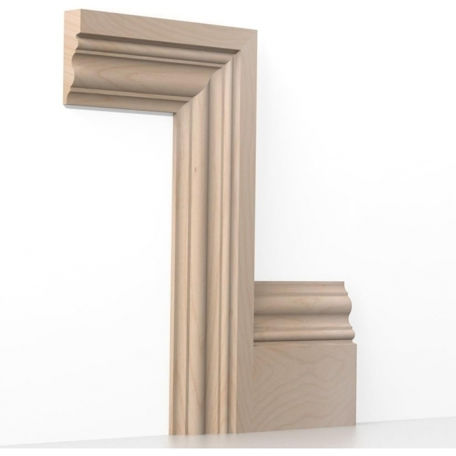 Solid Beech Windsor Architrave Sets