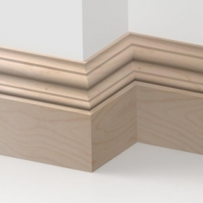 Solid Beech Windsor Skirting 3 metre