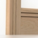 Solid Cherry Bullnose Double Edge Architrave Sets