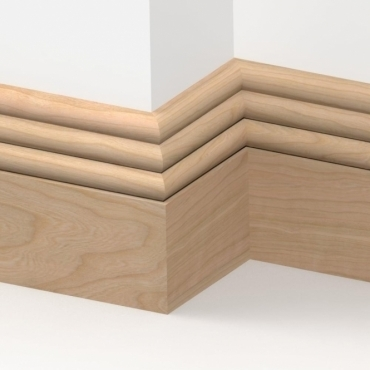 Cherry Solid Hove Skirting 3 metre