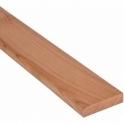 Solid Cherry Flat Edge Cover Beading Threshold Strip 110MM x 8MM
