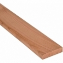 Solid Cherry Flat Edge Cover Beading Threshold Strip 50MM x 8MM