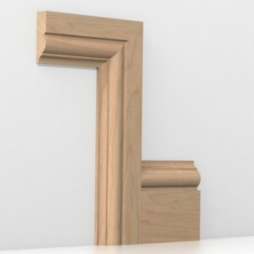 Solid Cherry Winchester Architrave Sets