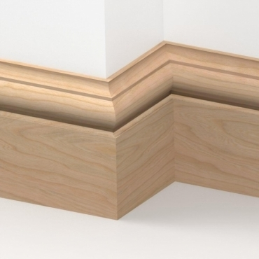 Solid Cherry Winchester Skirting 3 metre