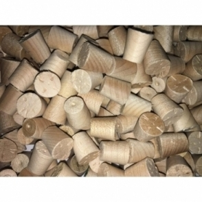 Solid Maple 8mm Tapered Pellets