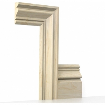 Solid Maple Buckingham Architrave Sets