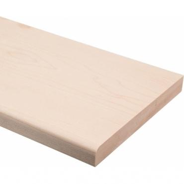 Solid Maple Bullnose Window Board 2.4 metre x 20mm