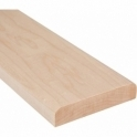 Solid Maple Flat Door Threshold 144mm Wide