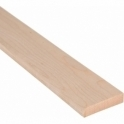 Solid Maple Flat Edge Cover Beading Threshold Strip 100MM x 8MM