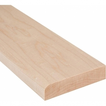 Solid Maple Flat Edge Door Threshold 144mm Wide