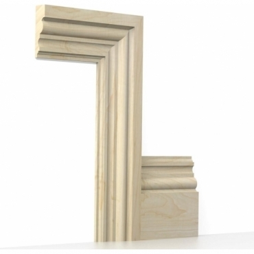 Solid Maple Heritage Architrave Sets