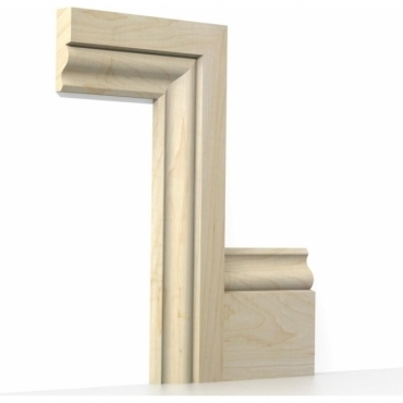 Solid Maple Ogee Architrave Sets